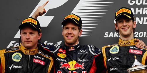 bahrain grand prix podium