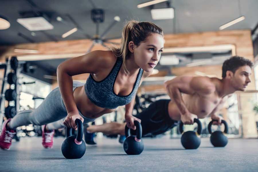 Woman Gym Workout