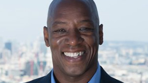 Ian Wright reacts to Arsenal's 2-0 win over Basel