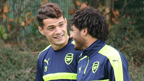 Photo: Granit Xhaka makes promise to Arsenal fans ahead of return