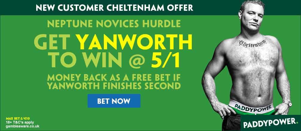 yanworth cheltenham odds