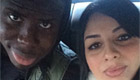Zouma all smiles with wife ahead of derby