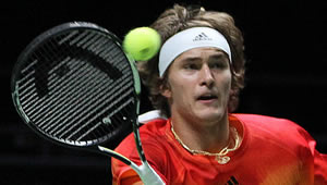 Alexander Zverev listens and learns – from his brother and Roger Federer